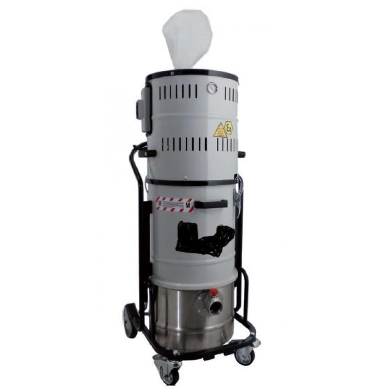 Aspirateur industriel poussières certification ATEX 20L