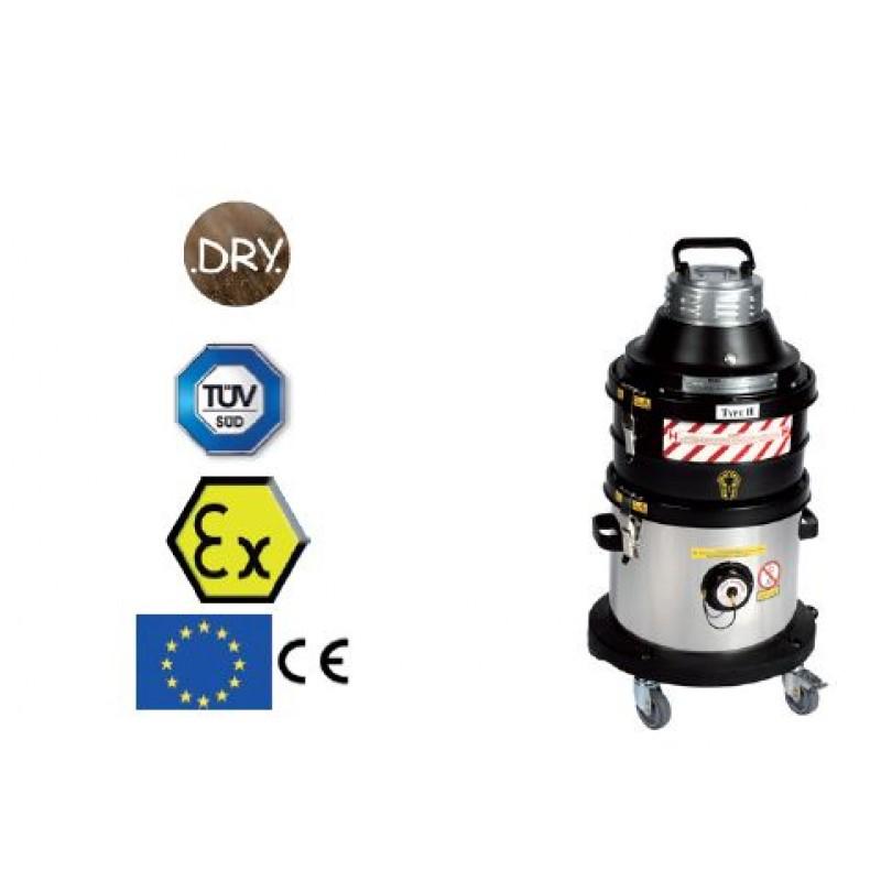 Aspirateur industriel poussières ATEX zone 22