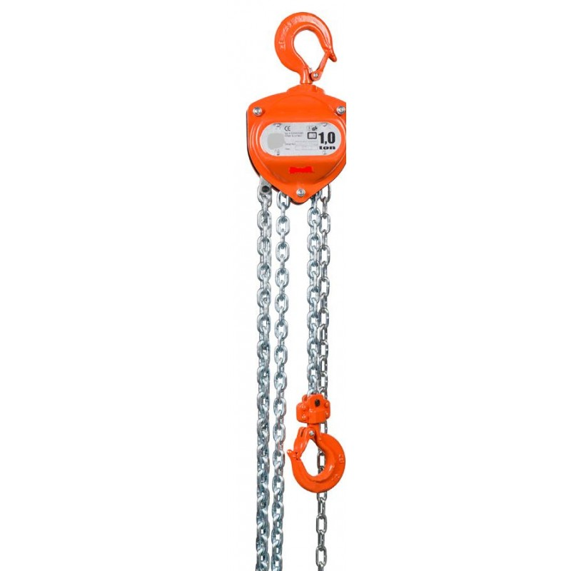 Palan Manuel 1000 Kg levée 3 m robuste et ergonomique