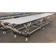 Structures tubulaires modulaires pour chaines de production