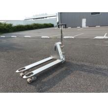 Transpalette Hydraulique manuel en acier Inox
