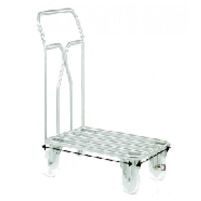 Chariot inox 316 charge 400 kg