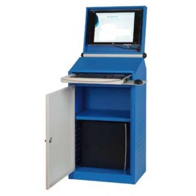 Armoire informatique compacte pour écran plat