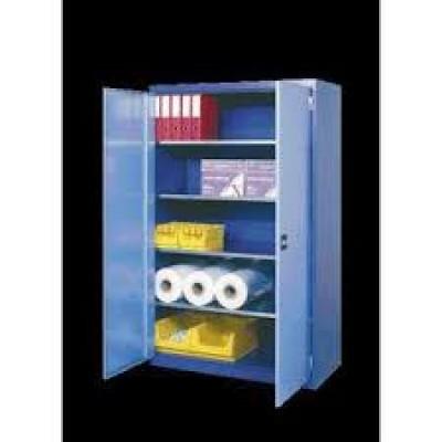 Armoire à porte  battantes 4 étagères l 1250 mm