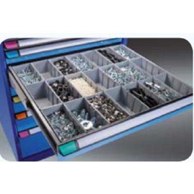 Lot de matériel de subdivision pour armoire 7 tiroirs